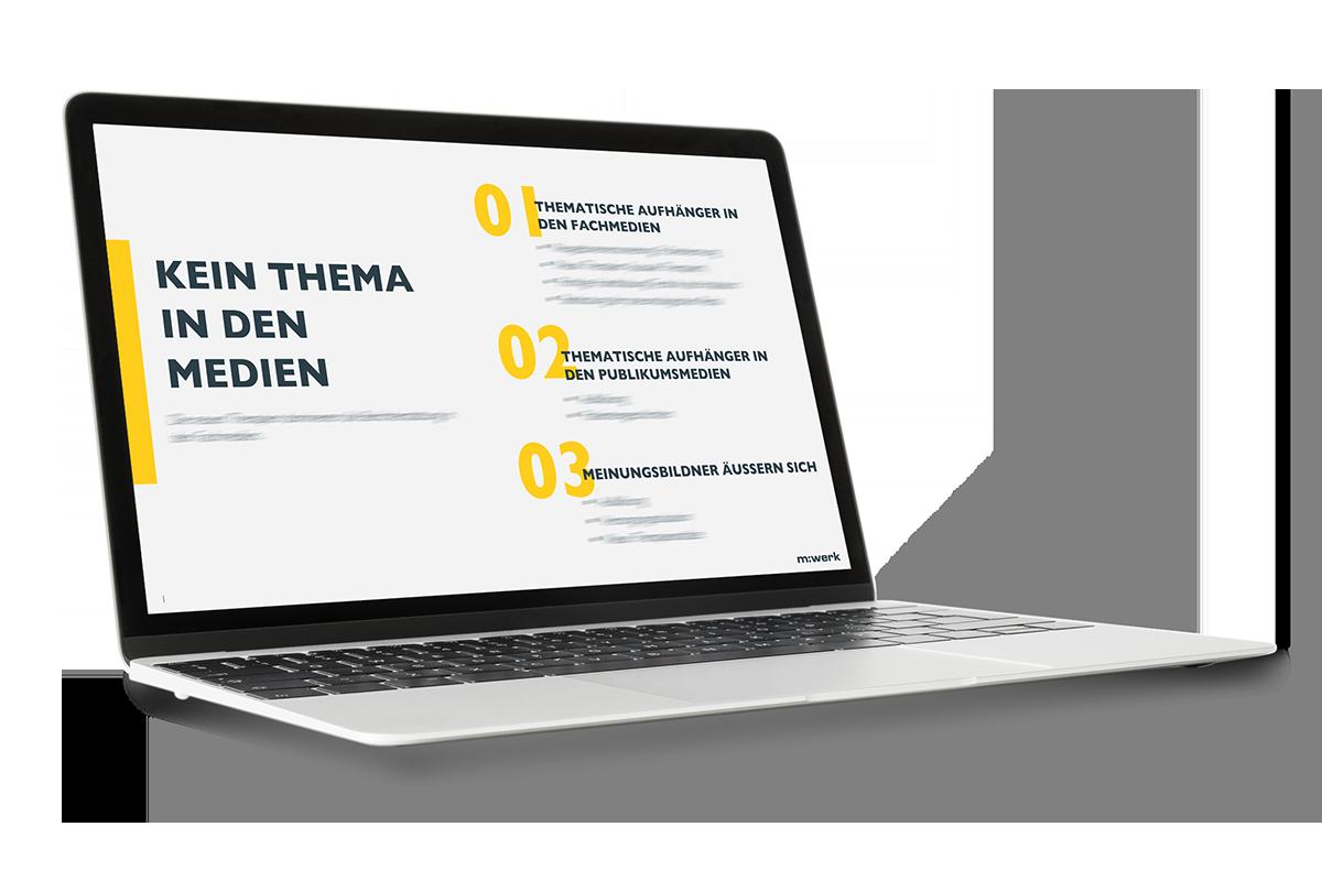 thematische Medienanalyse im Bereich Healthcare - Influencer und Meinungsbildner